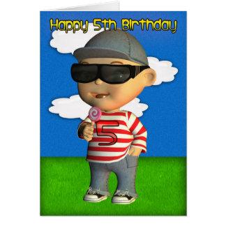 Happy 5th Birthday Card