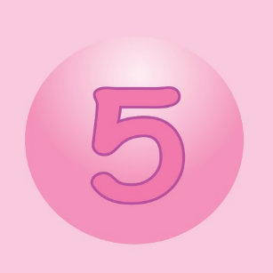 Girls Fifth Birthday Party Supplies Zazzle Ca