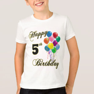Happy 5th Birthday Shirts And Apparel