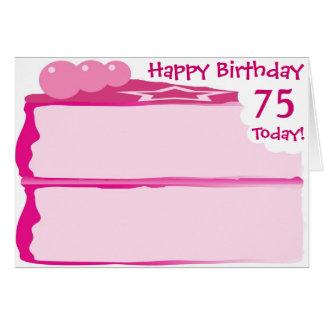 Happy 75th Birthday Card