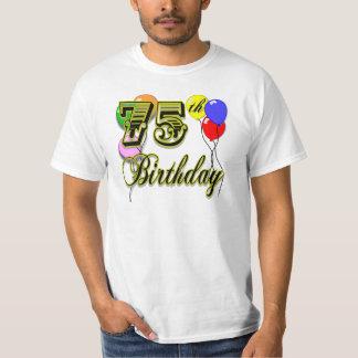 Happy 75th Birthday Celebration T-Shirt