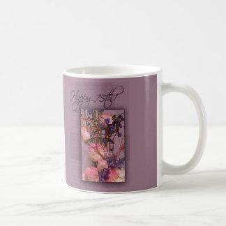 Happy 75th Birthday - Customized Mugs