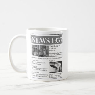 Happy 80th birthday 1937 News Mug