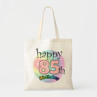 Happy 85th Birthday (pink) Tote Bag