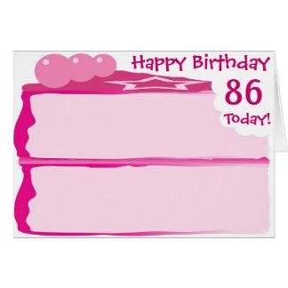 Happy 86th Birthday Greeting Card
