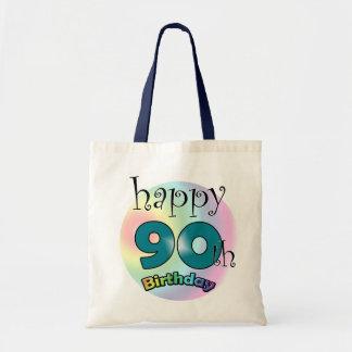 Happy 90th Birthday Tote Bag