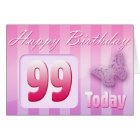 Happy 99th Birthday Grand Mother Great-Aunt Mom Card
