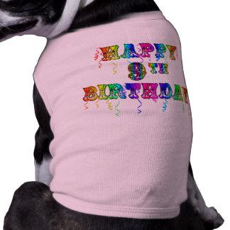 Happy 9th Birthday Shirts, Birthday Mugs and more Shirt