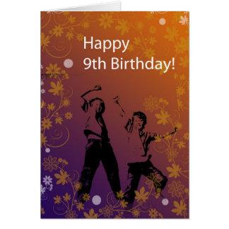 Happy 9th Birthday to Boy Card