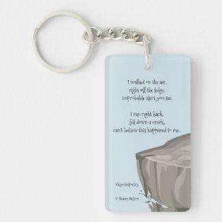 Happy Accident Keychain