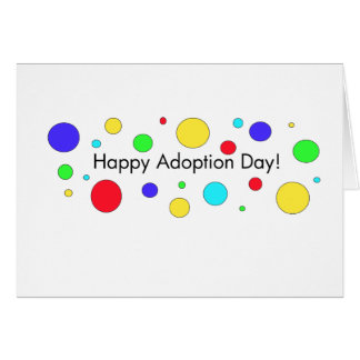 Happy Adoption Day! Greeting Card