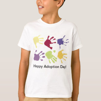 Happy Adoption Day Kids T-shirt