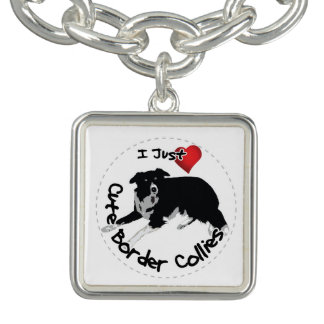 Happy Adorable & Funny Border Collie Dog Bracelets