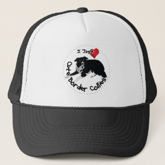 Happy Adorable & Funny Border Collie Dog Trucker Hat