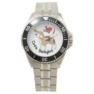 Happy Adorable Funny & Cute Beagle Dog Watch