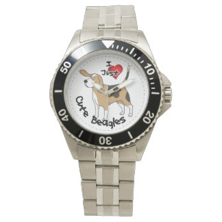 Happy Adorable Funny & Cute Beagle Dog Watches