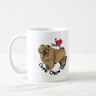 Happy Adorable Funny & Cute Chow Chow Dog Coffee Mug