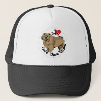 Happy Adorable Funny & Cute Chow Chow Dog Trucker Hat