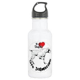 Happy Adorable Funny & Cute Dalmatian Dog 532 Ml Water Bottle