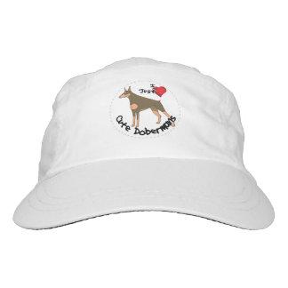 Happy Adorable Funny & Cute Doberman Dog Hat