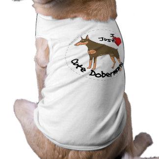 Happy Adorable Funny & Cute Doberman Dog Shirt