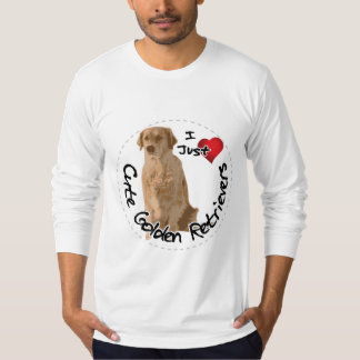 Happy Adorable Funny & Cute Golden Retriever Dog T-Shirt