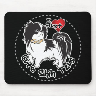Happy Adorable Funny & Cute Shih Tzu Dog Mouse Pad