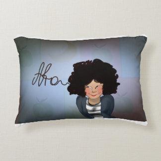 Happy Afro Decorative Pillow