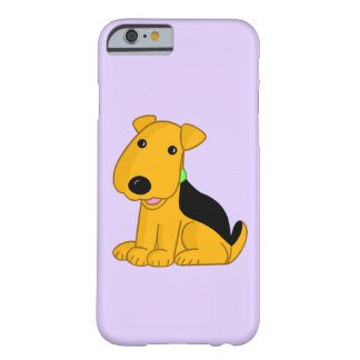 Happy Airedale Puppy Barely There iPhone 6/6s Case