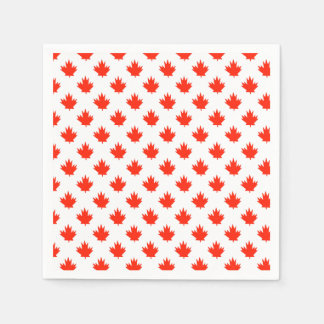 Happy All Over Canada Day Party Paper Napkins