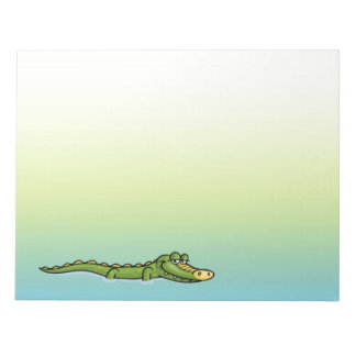 Happy Alligator Notepad