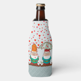 Happy and Grumpy Gnomes Bottle Cooler