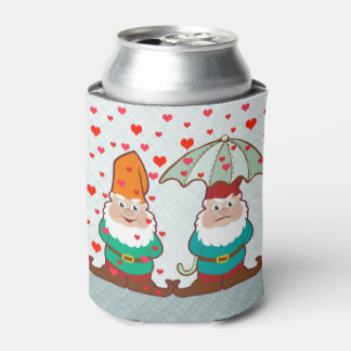 Happy and Grumpy Gnomes Can Cooler