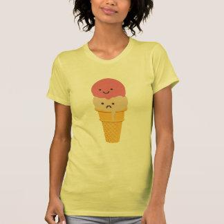 Happy and Sad Ice Cream Cone T Shirt