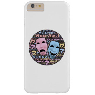 Happy and sad masks cartoon barely there iPhone 6 plus case