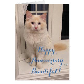 Happy Anniversary Beautiful Card