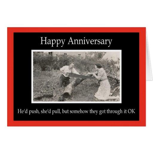 Happy Anniversary - FUNNY | Zazzle