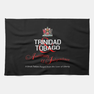 Happy Anniversary of Independence T&T Hand Towels