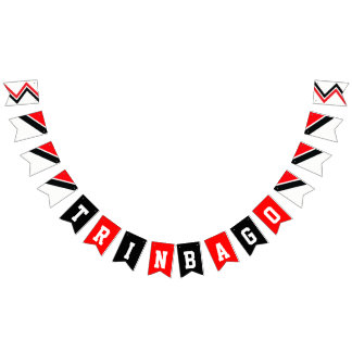 Happy Anniversary of Independence TRINBAGO Bunting Flags