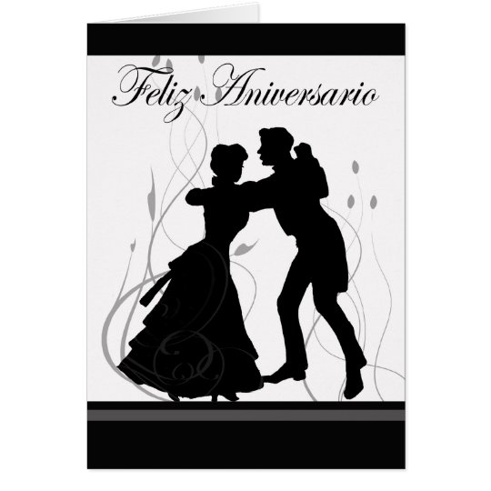 Happy Anniversary-Spanish Card