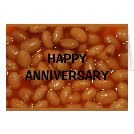 Happy Anniversary To My Favourite Human Beans! Card