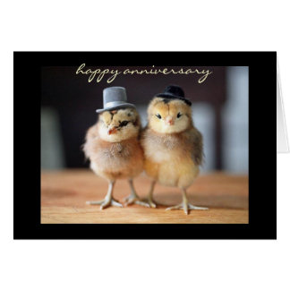 Happy Anniversary to Quite a Pair (greeting card) Card