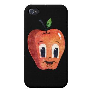 Happy Apple iPhone 4 Cover