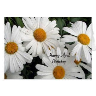 Happy April Birthday Card