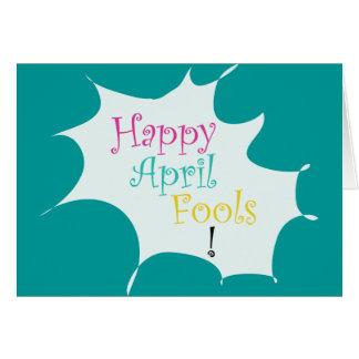 Happy April Fools - Card