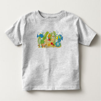 Happy Aquarium Fish Toddler T-shirt