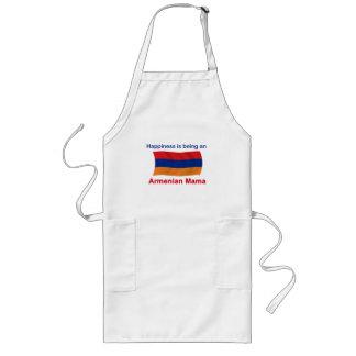 Happy Armenian Mama Long Apron