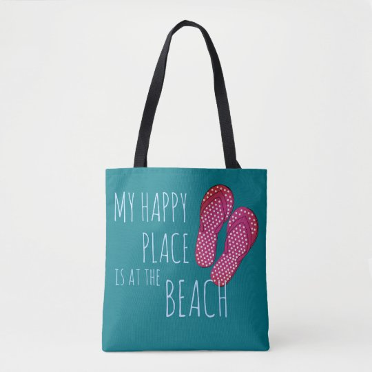 Happy at the Beach & Flip-Flops - TOTE