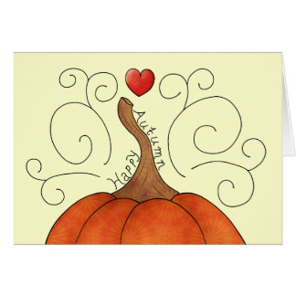 Happy Autumn Card