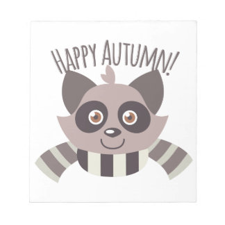 Happy Autumn Notepads